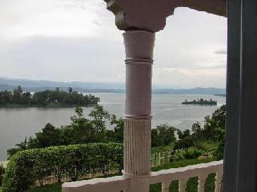 View from new house in Rwanda
